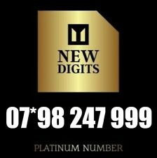 GOLD MEMORABLE VIP UNIQUE PREMIUM MOBILE PHONE NUMBER SIM CARD EMERGENCY 247 999