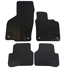 Volkswagen VW Passat (B6) 2005-2007 Tailored 4 Piece Rubber Car Mats 4 Clips
