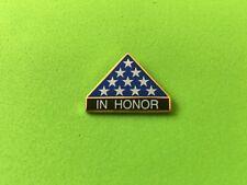 In Honor Of Our Fallen Hero'S Hat Pin