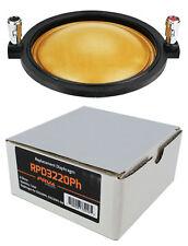 1x PRV Audio RPD3220Ph reemplazo Diafragma D3220Ph D3220Ph-Nd