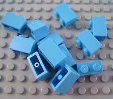 New LEGO Lot of 12 Medium Blue 1x2 Building Brick Pieces