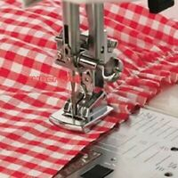 Gathering Foot Feet Snap On Presser Shirring for Domestic Sewing Machine DIY
