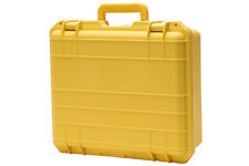 CB O16 YELLOW POLY COMMERCIAL ELECTRONIC GUN CASE KINETICS FOAM WINE CARRIE