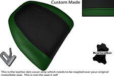 BLACK & DARK GREEN CUSTOM FITS HONDA GOLDWING GL 1500 88-00 BACKREST COVER