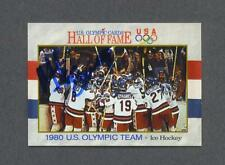 Mike Eruzione signed US Olympic Hall of Fame trading card