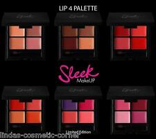 Sleek Make Up Lip 4 Lipstick Palette Assorted Colours
