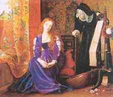 Hughes Arthur The Pained Heart Aka Sigh No More Ladies Sigh No More A4 Print
