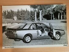 RENAULT FUEGO press photo car sales brochure UK early 1980s