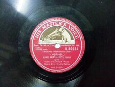 """MANIK RATNA  NEPALI JYAURE SONG nepal N 80254 RARE 78 RPM RECORD 10"""" INDIA VG+"""