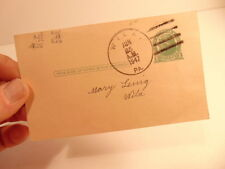1947 tax notice postcard- Juniata TWP, Perry County, PA - mailed from Wila, PA