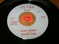 DONNIE CARL - HEART ATTACK - IF YOU WANT IT THAT WAY / LISTEN - SOUL RNB POPCORN