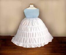 Plus Size 16-52 1x upto 10x Extra Full Victorian Civil War Reenactor Hoop Skirt