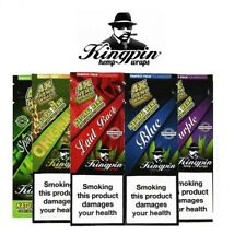 5 Packets of Kingpin Hemp Blunts (Mixed) = 20 wraps