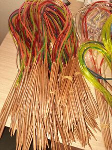 Rundstricknadel * Stricknadel * Bambus * verschiedene Längen und Stärken