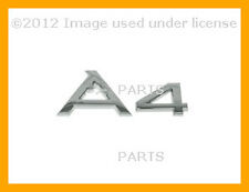 Audi A4 2002 2003 - 2006 Genuine Emblem - A4 Trunk/Hatch Inscription (Chrome)