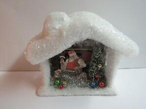 Bethany Lowe Workshop Santa Diorama LO8202 New