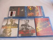 5 New Action/Drama Blu-rays, Reservoir Dogs/November Man/Survivor/Taken/Expend ab