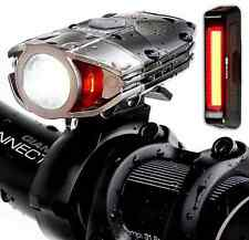 Blitzu Gator 380 Lumens Headlight Usb Rechargeable Bike Light Set with Led Tail