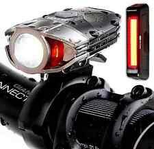 Blitzu Gator 380 Lumens Headlight Usb Rechargeable Bike Light Set with Led Tail