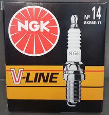 4x NGK V-Line 14 Bujía bkr6e-11, 6465 , VL14, HONDA MAZDA MITSUBISHI #