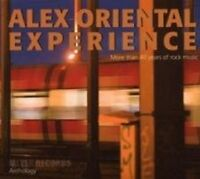 ALEX ORIENTAL EXPERIENCE - ANTHOLOGY-MORE THAN 40 YEARS OF ROCK 3 CD NEU