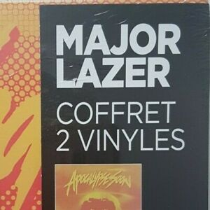 MAJOR LAZER ♦ French BOXSET of 2 x 180g LP (LIMITED EDITION) ♦ New & Sealed.
