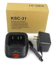 110V KSC-31 Radio Battery Charger for KENWOOD TK-2200 TK-2202 TK-3200 Radios
