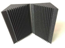 8 PCS Soundproof Corner Acoustic Foam Black Bass Trap Studio Acoustic Treatment