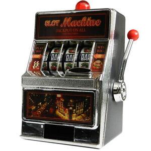 Slot Machine Casino Jackpot Money Saving Box Bank 2 in 1 Games