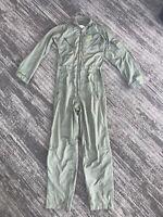 Flyers Coveralls Summer  Foilage Flight Suit 36L Nice  D-14