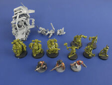 Warhammer 40K 3x Plague Marines 5x Pox Walkers 1x Land Speeder 3x Paint Cultists