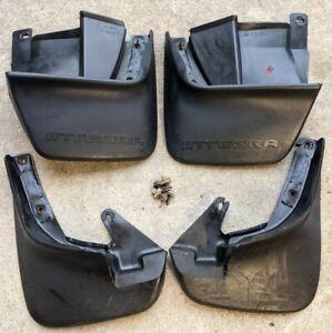 90-93 Acura Integra DA9 Complete Mud Flaps Splash Guard Set 91 92 OEM Rare Clean