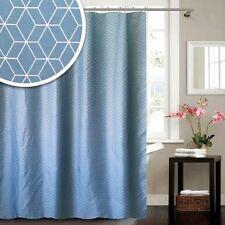 Bsc162 Blue Canyon Geometric Shower Curtain 5304