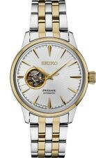 Seiko PRESAGE Automatic Sunray Dial Two-tone Steel Mens Watch SSA358