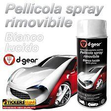 Vernice removibile BIANCO LUCIDO 400ml Pellicola spray wrapping auto moto
