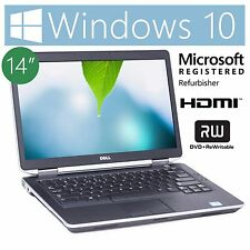 """Dell E6430S 14"""" Notebook Intel i5 2.6Ghz 4GB 250GB HDMI Win 10 *See Details*"""