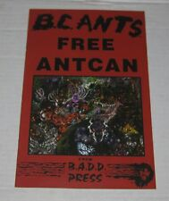 """1997 RED HOT CHILI PEPPERS Illustrated Lyrics Dealer Promo Flyer 8.5"""" x 11"""""""