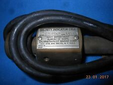 GALBRAITH CORP. -U.S. NAVY -SALINITY INDICATOR CELL- . - MOD. CN0C-P - 2.W.W.
