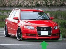 Front SE bumper Valance Spoiler Splitter Chin lip For Audi A4 B7