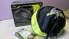 Scorpion EXO-400 Rebel Full Face Motorcycle Helmet Size XS with Bag and Box VG+