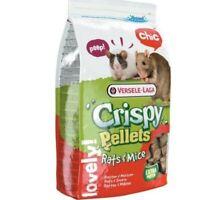 VL-Crispy Pellets - Rats&Mice 1kg - Granulat für Ratten und Mäuse Tiere