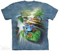 Frog Capades T-Shirt by The Mountain. Amphibian Tee Sizes S-5XL NEW