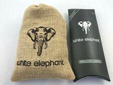 White Elephant Pfeifen Filter 200er Beutel 9mm Aktivkohle Kenia Ed. + Reiniger