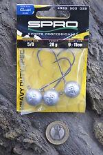 Jigkopf SPRO Round Jig Head HD 5/0 28g Jighaken