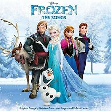 FROZEN THE SONGS CD ALBUM DISNEY SOUNDTRACK (2015)