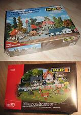 Faller H0 Set Bergheim 5 Gebäudebausätze und 190269 Dorfausschmückung, neu, ovp