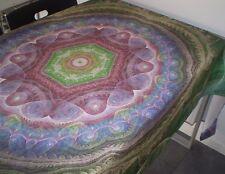 TOVAGLIA , tablecloth 145 x 220 cm ,100 % cotone , stampata digitale , mandala