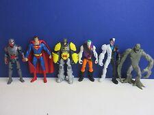 """BATMAN JOKER TWO FACE SUPERMAN CLAYFACE ACTION FIGURE 6"""" SET dc comics G50"""