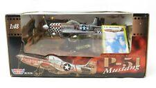 Motor Max 1:48 Scale DIE-CAST P-51 Mustang NIB (0172)