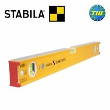 Stabila 48in Spirit Level 120cm Heavy Duty Box Beam with 3 Vials 48in 96-2-120
